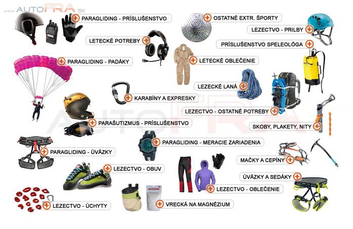 Sprostredkovanie tovaru z Poľska  Paragliding - príslušenstvo – Extrémne  športy – Tovar z Poľska  eac309ba4fe